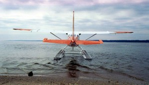 plane, water, photographed,