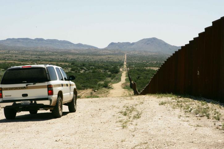 border, patrol, car, patroling, border