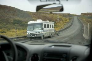 conduite, autoroute, route