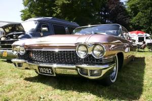 front, bumper, oldtimer, car