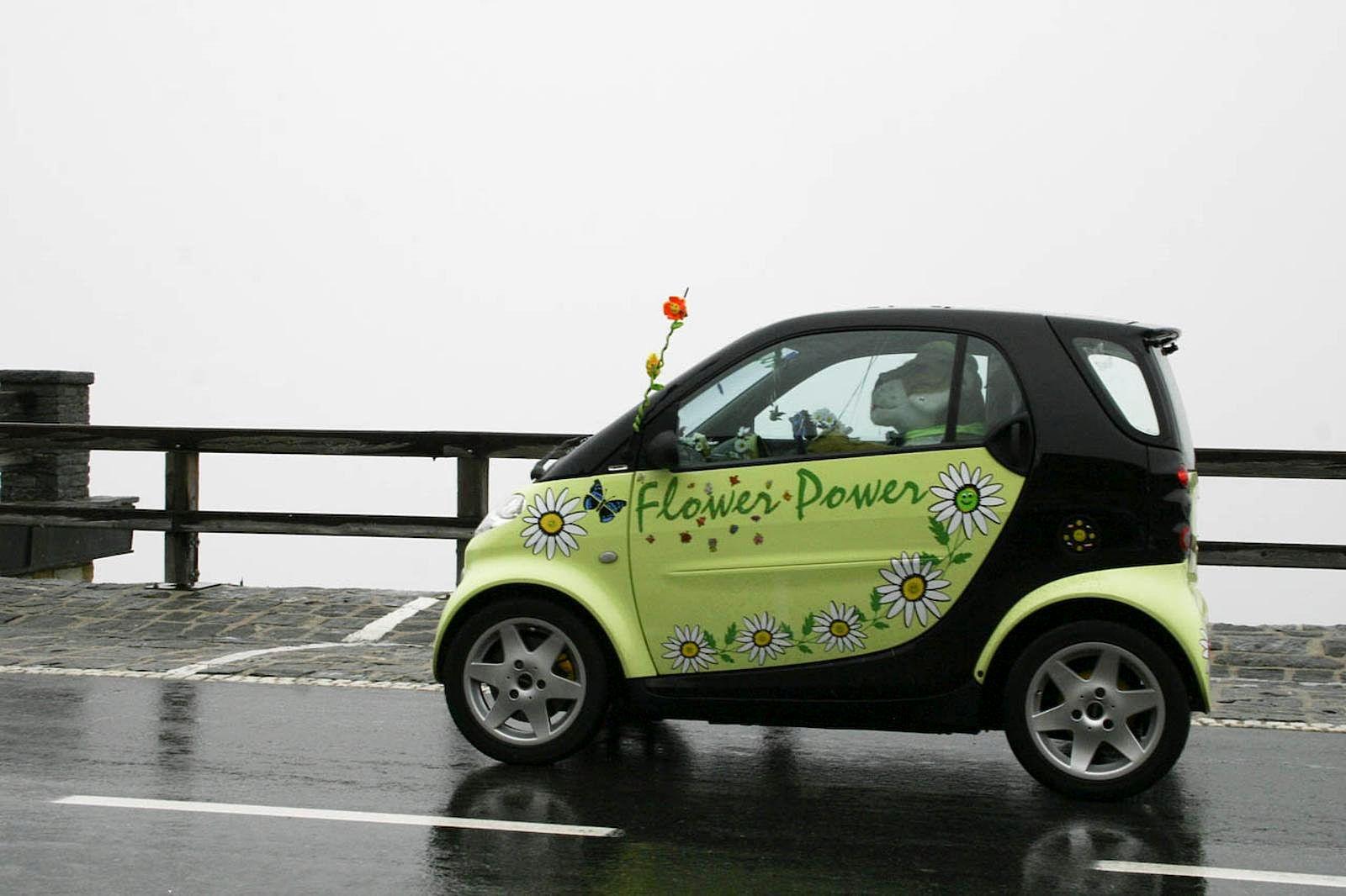 modern small car