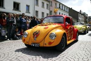viejo, alemán, popular, coche