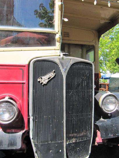 old, timer, Regent, car
