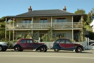 deux, Citroens, voitures
