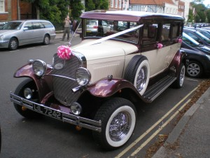 wedding, car, oldtimer