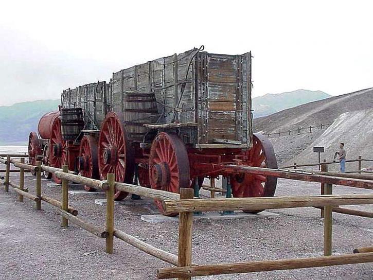 пустеля смерті долини, мул, команда, вантажних вагонів