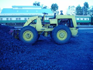 front, loader, coal, vehicle
