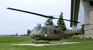bell, model, huey, helicopter