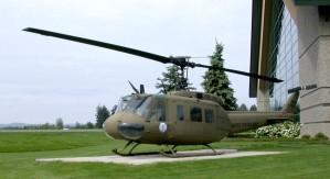 cloche, modèle, huey, hélicoptère