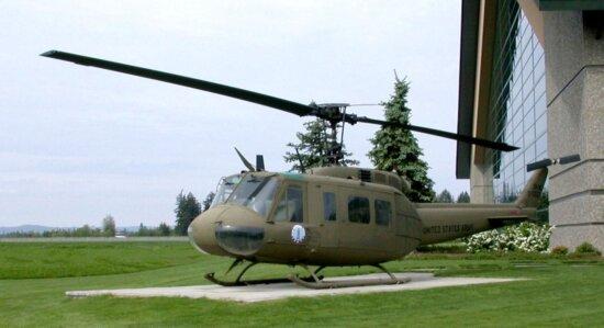 Белл, модель, Хьюи, вертолет