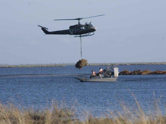 вертолет, воздуха, питание, лодка, транспорт, операция