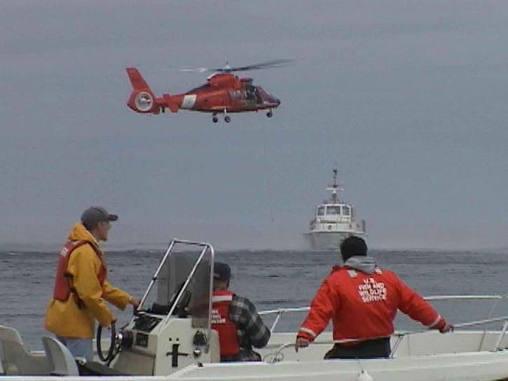 helicopter, boat, rescue, operation