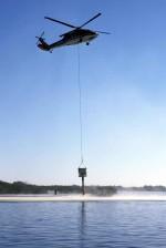 helikopter, spand