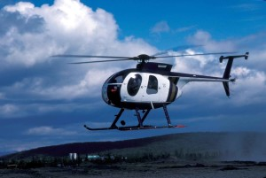 helicopter, hovering, ground