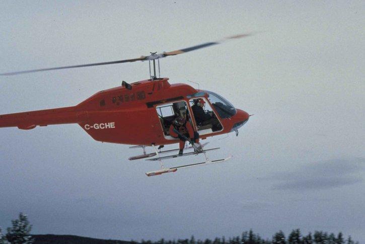 červená, záchrana, vrtulník