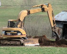 loader, excavator, vehicle