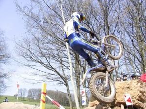 croix, motircycle, saut