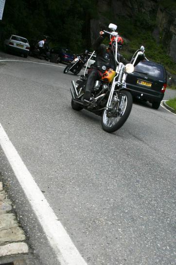 driving, bike, road