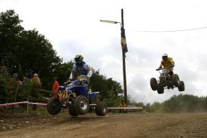 saut, buggy, sport, course