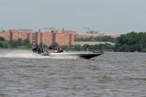 båt, hastigheter, turnering, båt, rase