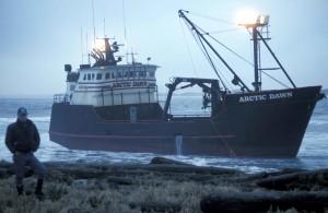 Arctic, dawn, grounded, Paul, island