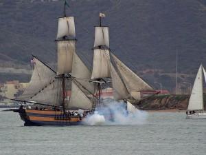 μάχη, αναπαράσταση, deigo, θαλάσσιες, Μουσείο