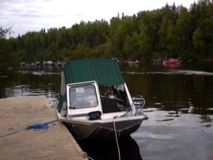 boat, fishing, docked