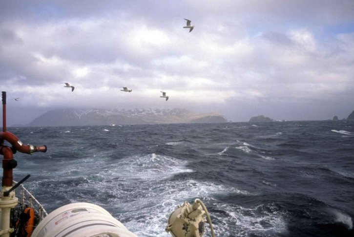 boat, storm, sea