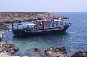 boat, blue, lagoon