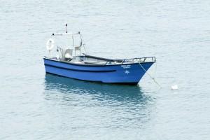bateau, calme, mer