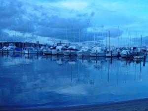 лодки, Размисли, Роял, Пърт, яхта, клуб