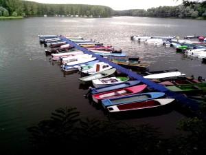 bateaux, quai, port de plaisance