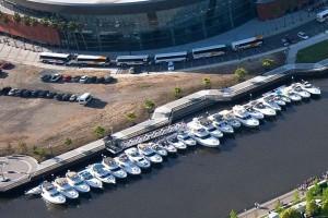 dock, bateaux