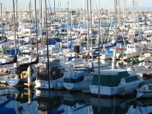 docked, boats, ships, dock