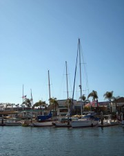 docked, boats, small, boats