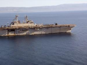 erial, avions, transporteur, Bataan, Caraïbes, opération, unifiée, la réponse