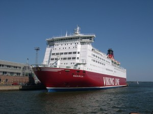 ferry, bateau, Helsinki