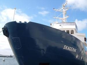 frente, barco de pesca