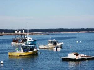 homard, bateaux