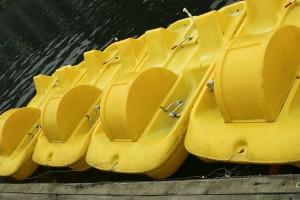 plastique, bateaux