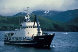 research, vessel, big, ship
