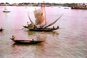 river, craft, Meghna, river, mode, transport