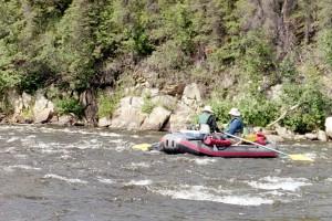 Fluss, Rafting, Gulkana, Fluss