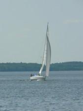 sailing, boat