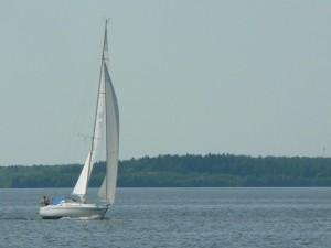 vela, barca, acqua