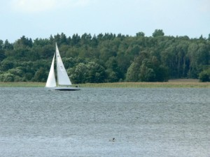 sailingboat, wind