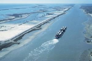 bateau, barge, trafic