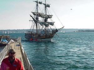 ship, boat, sailing, water, pier