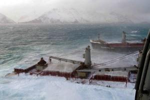 ship, wreck, open, sea