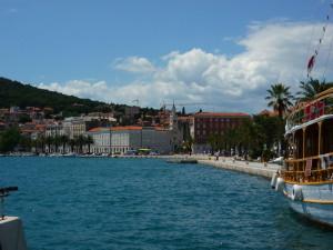 petit, tourisme, croiseur, bateau